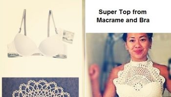 Make a Macrame Top From a Bra – DIY (2)