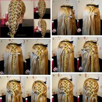 Out of Ordinary Braided Hairstyle