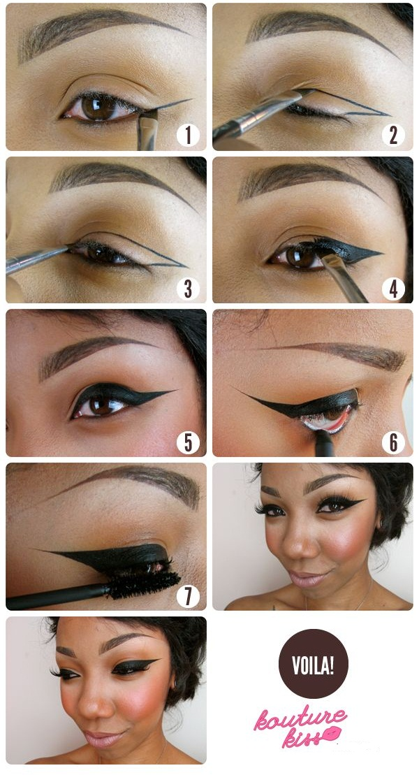 Strong Winged Eyeliner Tutorial