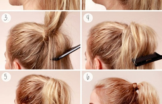 how to make hair silky and not poofy