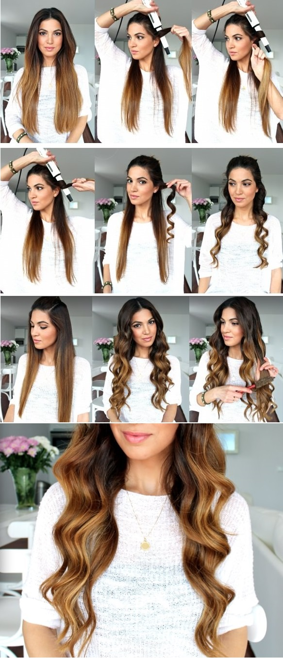Beautiful Waves Hairstyle Tutorial