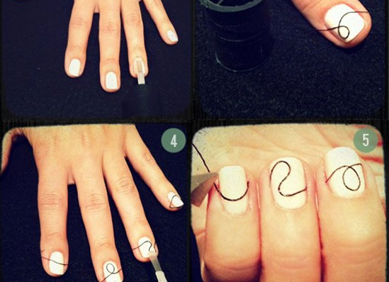 Creative Wire Nail Art Tutorial Alldaychic