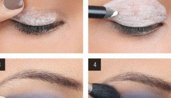 Blue Smokey Eyes – DIY Makeup Tutorial