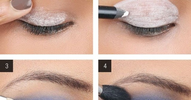 Blue Smokey Eyes Diy Makeup Tutorial Alldaychic
