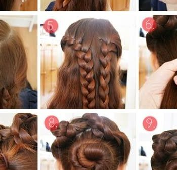 Braided Hairstyle For Thick Hair (2)