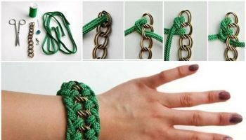 Creative Chain And Rope Bracelets – DIY Tutorials
