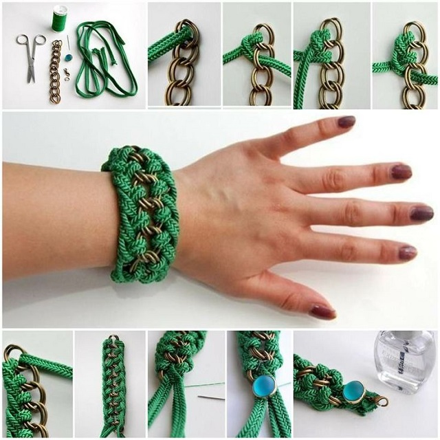 Creative Chain And Rope Bracelets