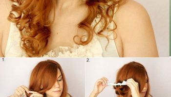 D.I.Y. CURLS HOW TO RAG ROLL YOUR HAIR