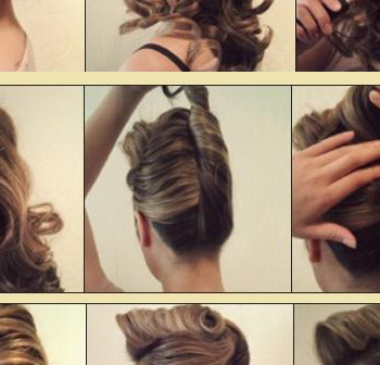 DIY Stylish Curly Quiff Hairstyle (2)