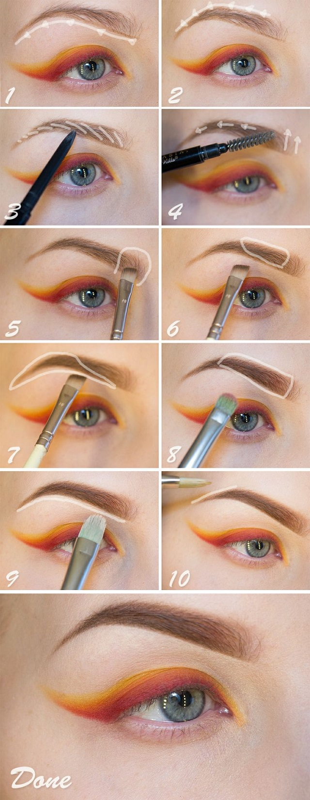 Eyebrows Shaping Technique
