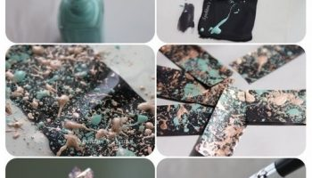Galaxy Splatter Nails