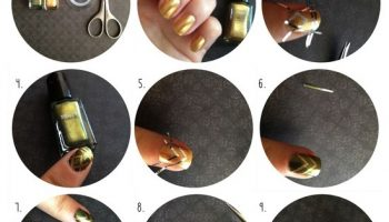 Great Gatsby Inspired Nail Tutorial (2)