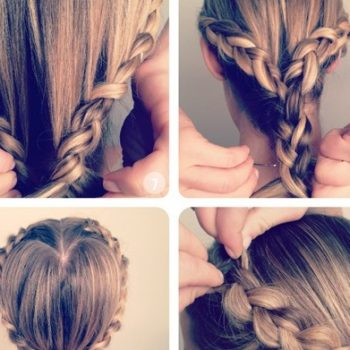 Heart Shaped Princess Braiding – Hairstyle Tutorial