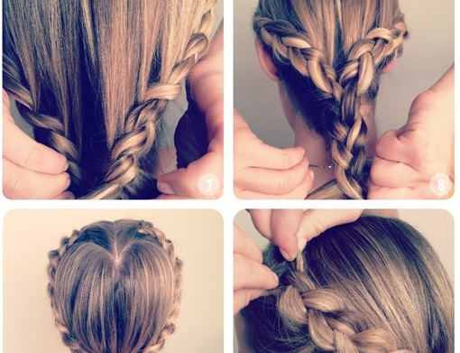 Fantastic Heart Shaped Princess Braiding Hairstyle Tutorial Alldaychic Hairstyle Inspiration Daily Dogsangcom