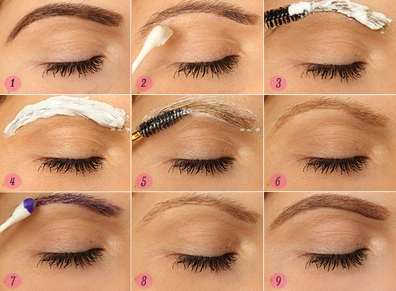 How To Bleach Eyebrows