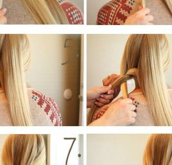 How To Make a 5 Strand Messy Braid (2)