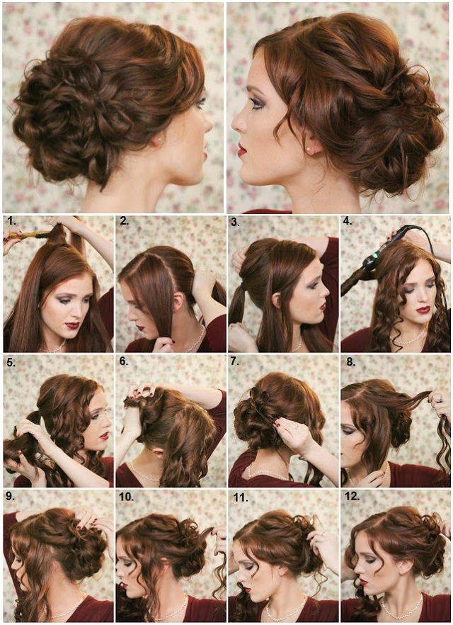 How To Make a Fancy Bun - DIY Hairstyle