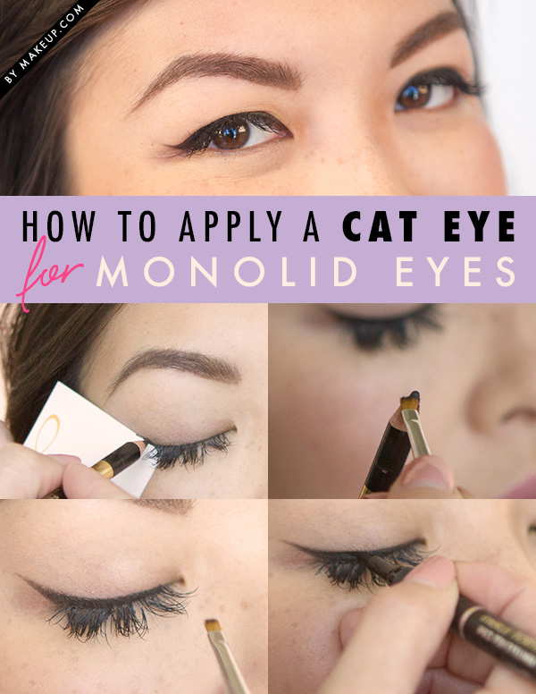 How to Apply a Cat Eye for monolid eyes