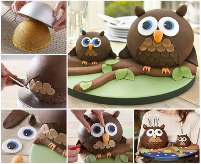 Owl Cake - DIY Recipe