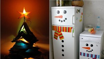 11-book-christmas-tree Clever Christmas Inspired Hacks For Your Home