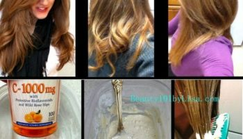 Homemade Hair Lightening and Color Removal Method
