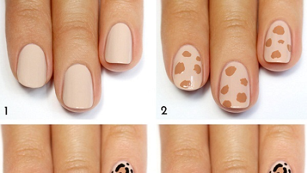 How to Make Leopard Print Nails - AllDayChic