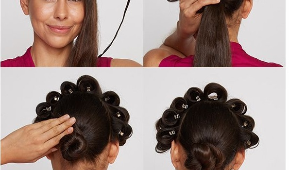 1920's Inspired Hairstyle Tutorial - AllDayChic