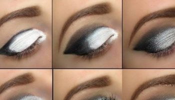 Beautiful Grey Smokey Eyes – DIY Tutorial (2)