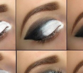 Beautiful Grey Smokey Eyes – DIY Tutorial (2)