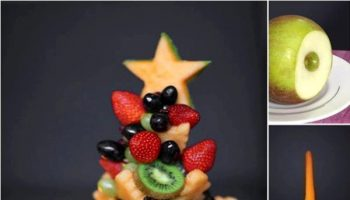 How To Make A Fruit Christmas Tree