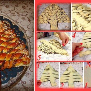 braided-christmas-tree-bread