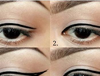 Step By Eyeliner Tutorial