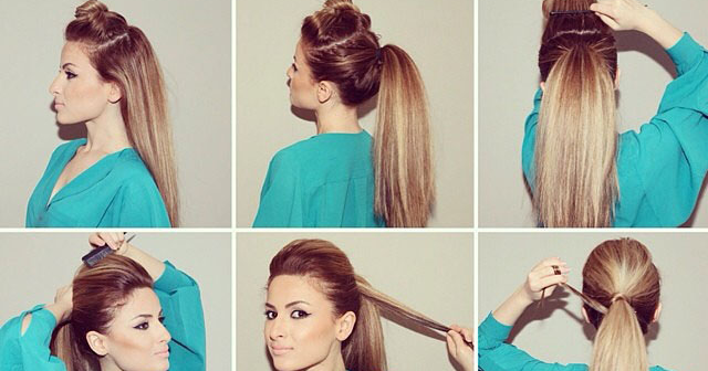 How To Make The Perfect Party Ponytail AllDayChic