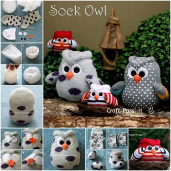 DIY-Sock-Owls