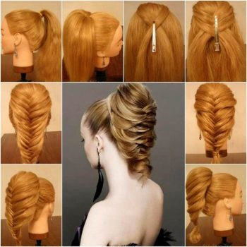 Stunning Way To Braid Up Your Ponytail