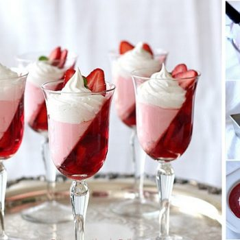 Jell-O-Strawberry-Parfait