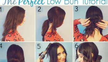 Romantic Low Bun Hairstyle Tutorial