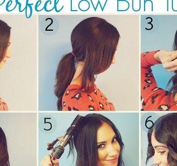 Romantic Low Bun Hairstyle Tutorial