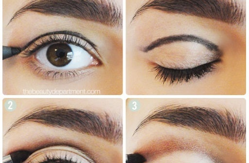 Gallery For &gt Simple Eyeshadow Ideas - Simple Makeup Designs