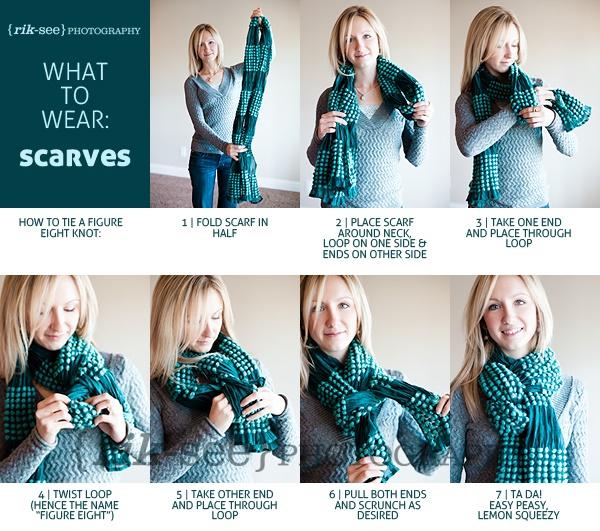25 ways to tie a scarf alldaychic