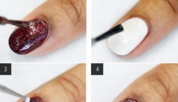 Wrapped Gifts Nail Art – DIY
