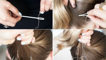Uncommon Way To Make a Bun – The Sew-It-Up Updo (2)