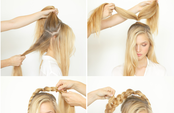 How To Make An Astonishing Braided Bun Alldaychic