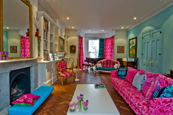 Colorful House fantastic looking colorful house located in london - alldaychic