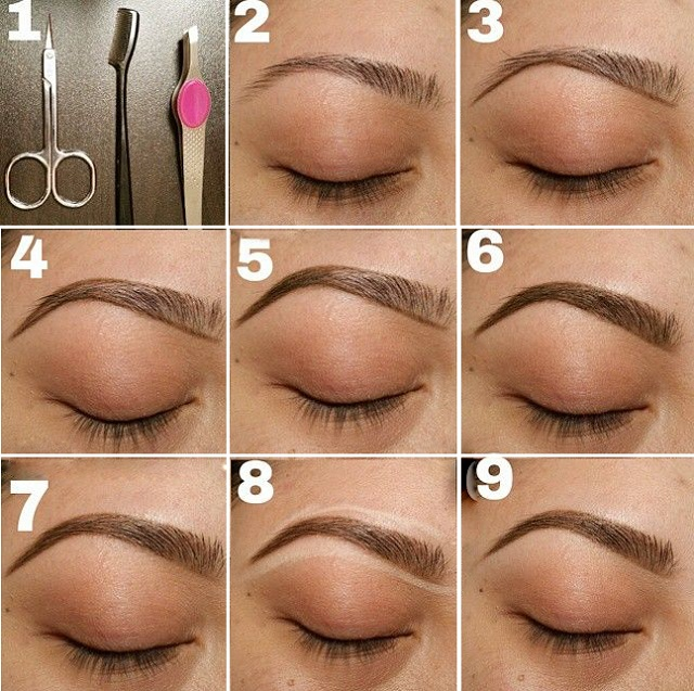 How To Make Your Natural Eyebrows Look Good   Cosmetics Pictranslator