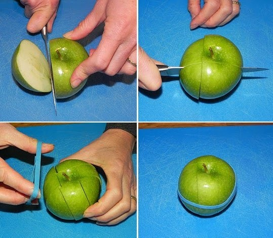How To Cut Apples Easily
