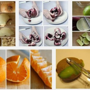 how to peel and cut foods easily