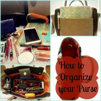 Purse Organization