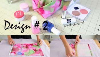 Simple DIY Makeup & Pencil  Bag (3)