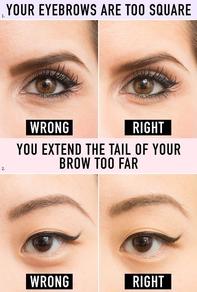 Don't Let Your Eyebrows Look Awful - AllDayChic